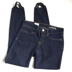 Gap stirrup jeans
